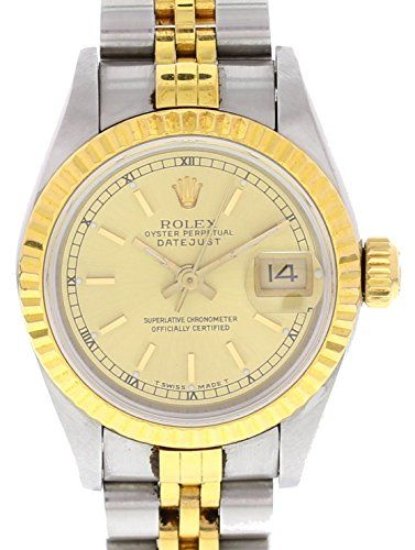 Rolex Datejust automatic-self-wind womens Watch 69173 (Certified Pre-owned) *** ...