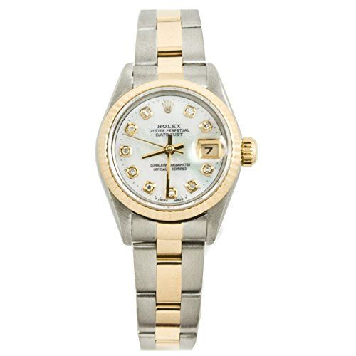 Rolex Datejust automatic-self-wind womens Watch 69173OCMOPD (Certified Pre-owned...