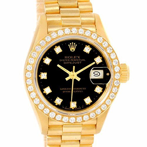 Rolex Datejust automatic-self-wind womens Watch 69178 (Certified Pre-owned) ** C...
