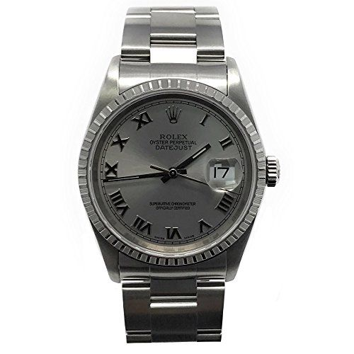 Rolex Datejust swiss-automatic mens Watch 16220 (Certified Pre-owned) *** Visit ...