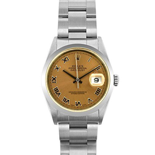 Rolex Datejust swiss-automatic womens Watch 16200SMRO (Certified Pre-owned) -- Y...