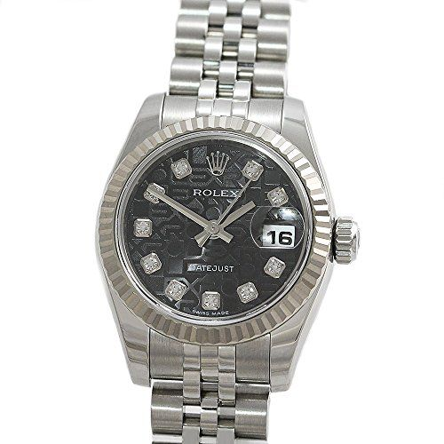 Rolex Datejust swiss-automatic womens Watch 179174-BKDJ (Certified Pre-owned) --...