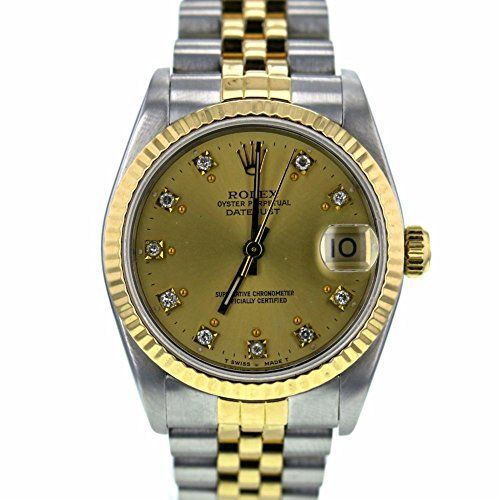 Rolex Datejust swiss-automatic womens Watch 68273 (Certified Pre-owned) *** You ...