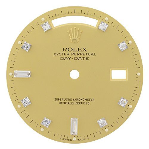 Rolex Day-Date 1211055 28mm Champagne Diamond Dial for 18038 36 mm Watch Model *...