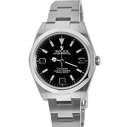 Rolex Explorer 1 Black Dial Steel Mens Watch 214270 * Read more reviews of the p...