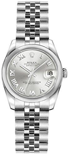 Rolex Lady-Datejust 26 179160 Silver Dial with Roman Numerals *** Click image fo...