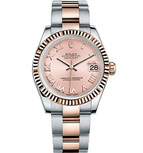 Rolex Lady Datejust 31 Steel Rose Gold watch Pink dial 178271 ** Want to know mo...
