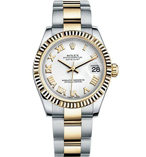 Rolex Lady Datejust 31 Steel Yellow Gold watch White dial 178273 -- Click on the...