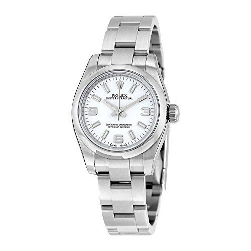 Rolex Lady Oyster Perpetual 26 White Dial Stainless Steel Rolex Oyster Automatic...