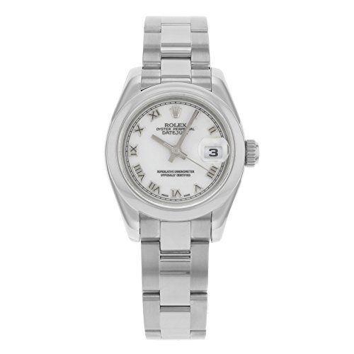 Rolex Ladys New Style Heavy Band Stainless Steel Datejust Model 179160 Oyster Ba...