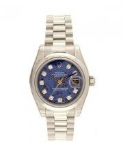 Rolex Oyster Perpetual Datejust Lady Platinum 179166 ** To view further for this...