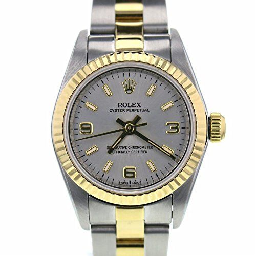 Rolex Oyster Perpetual swiss-automatic womens Watch 76193 (Certified Pre-owned) ...