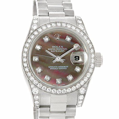Rolex President automatic-self-wind mother-of-pearl womens Watch 179159 (Certifi...