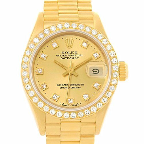 Rolex President automatic-self-wind womens Watch 69138 (Certified Pre-owned) ***...