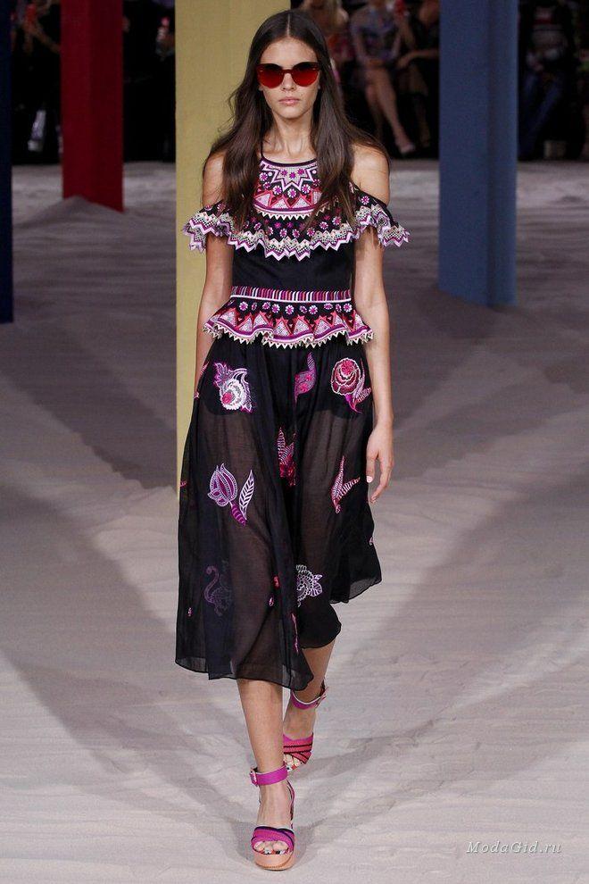 Женская мода: Неделя моды в Лондоне: Temperley Lond...