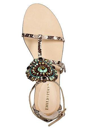1724 Fabulous Emilio Pucci sandal!