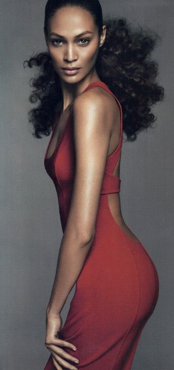 Joan Smalls in Michael Kors, Vogue/ don't know who this gal is but she is a ...