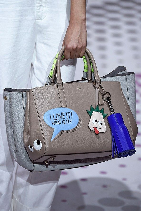 Anya Hindmarch Spring/Summer 2015 Ready-To-Wear show report