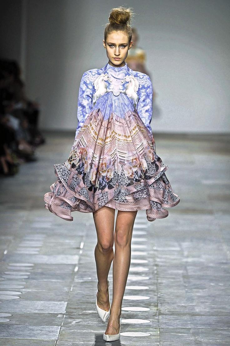 Mary Katrantzou - Powdy dress!! Favourite