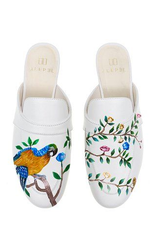 Parrot Floral Mule by Alepel Fall Winter 2018