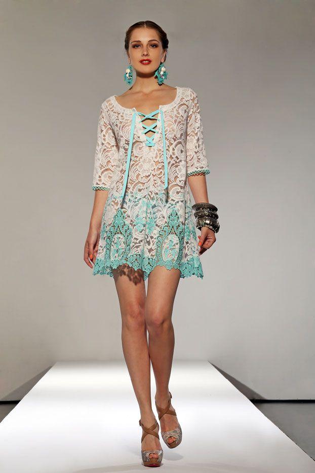 Raffaela D'Angelo Lace Dress