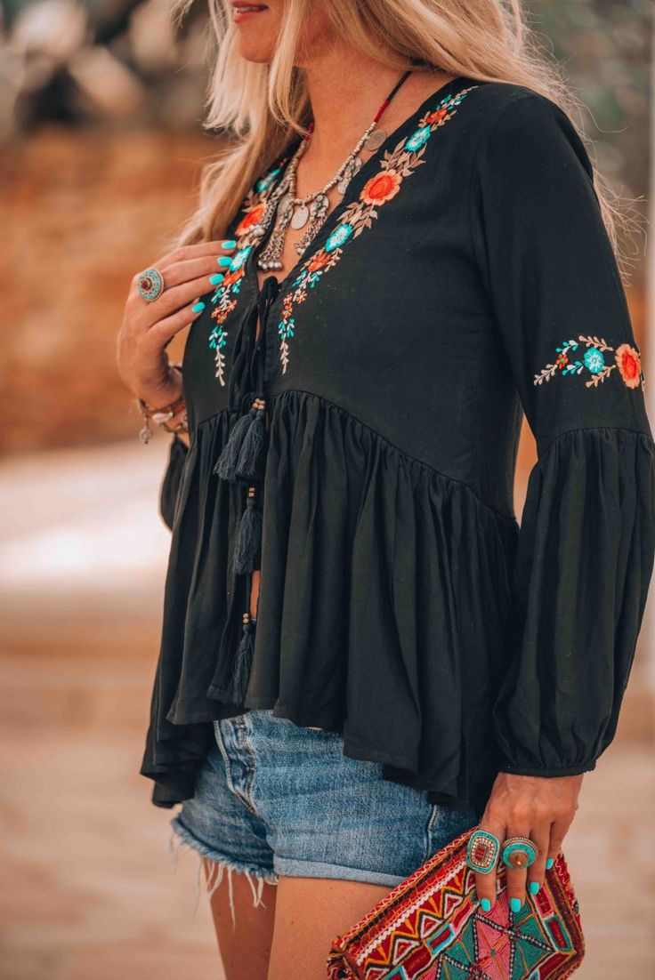 The ultimate bohemian Ibiza look you just have to try this summer