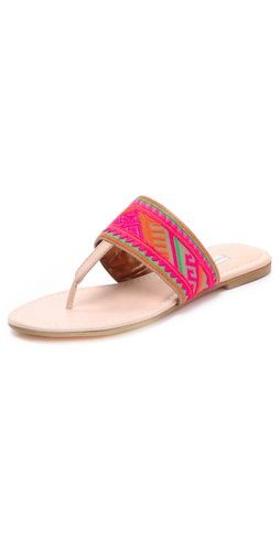 love embroidered sandals