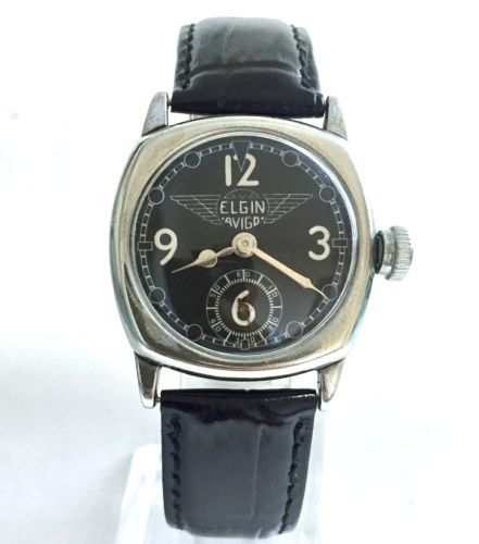 Elgin Men's Mechanical (Hand-winding) Analog Wristwatches | eBay