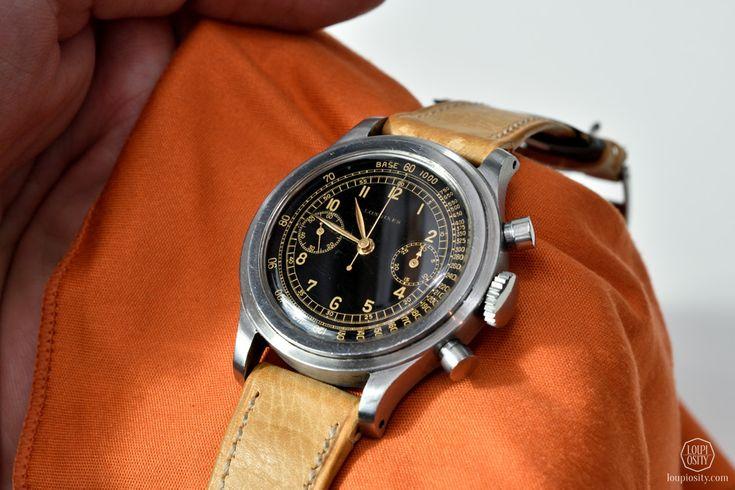 1942 longines chronograph caliber 13zn