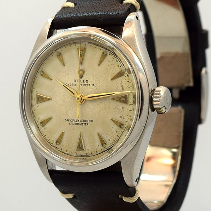 1951 Rolex Oyster Perpetual Stainless Steel Ref. 6284