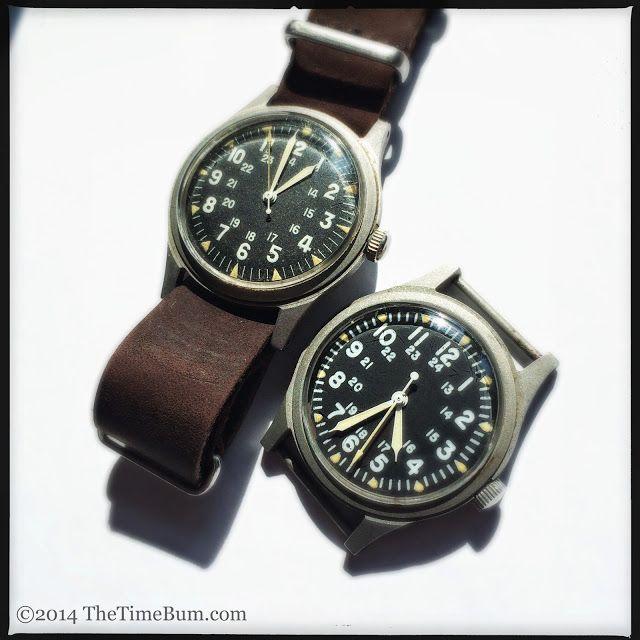 1969 Benrus and 1979 Hamilton GG-W-113