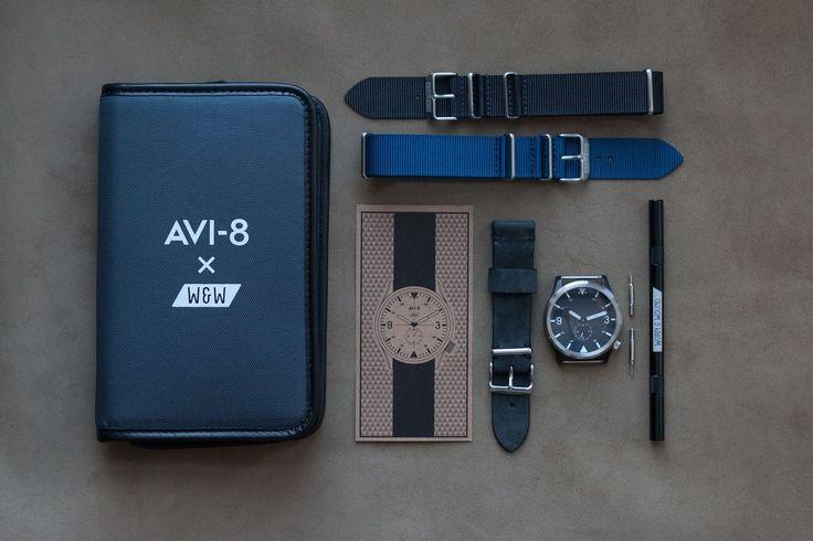 AVI-8 x worn&wound Collaboration - worn&wound shop