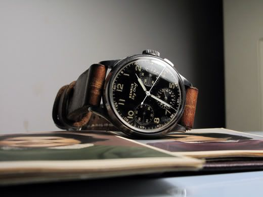 All the way back in 1940, Benrus Watch Co. launched their most successful model ...