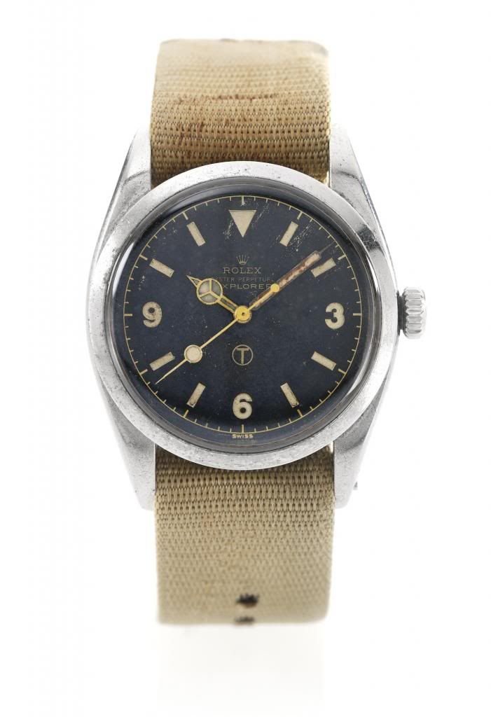 Army Issued Rolex Explorer