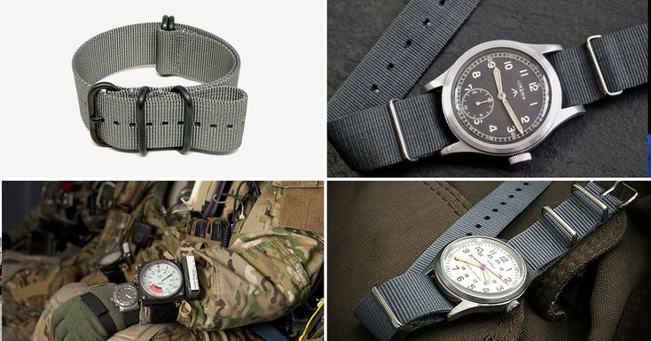 Buckle Up: The History Of The NATO Watch Strap | HiConsumption