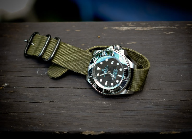 DeepSea with NATO Strap - Rolex Forums - Rolex Watch Forum