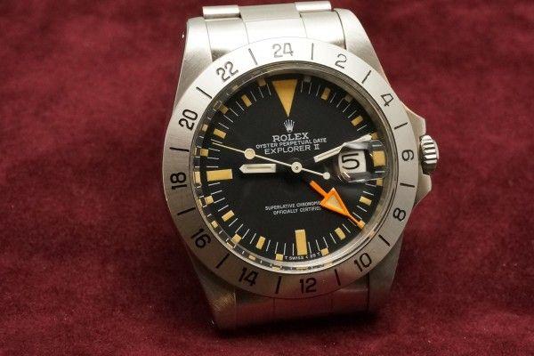 EXPLORERⅡ Ref-1655 Orange change 1979y