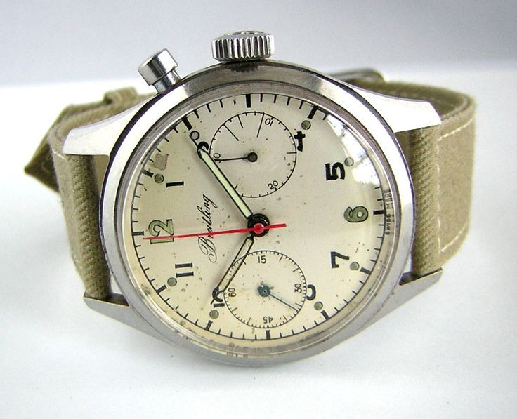 FANCY SALE: Follow us and repin and win Vintage Breitling for Men, a Classic! (C...