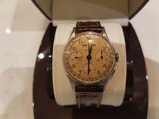 Gallet triple date chronograph vintage watch Valjoux 72c