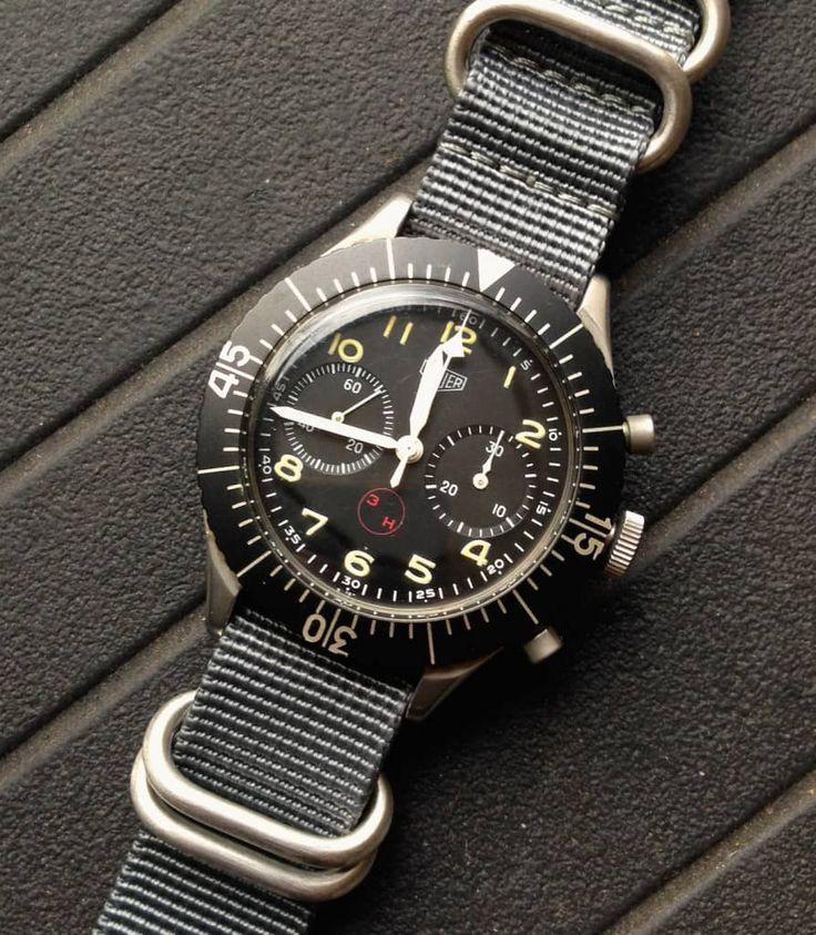Heuer Bundeswehr Pilots' watch