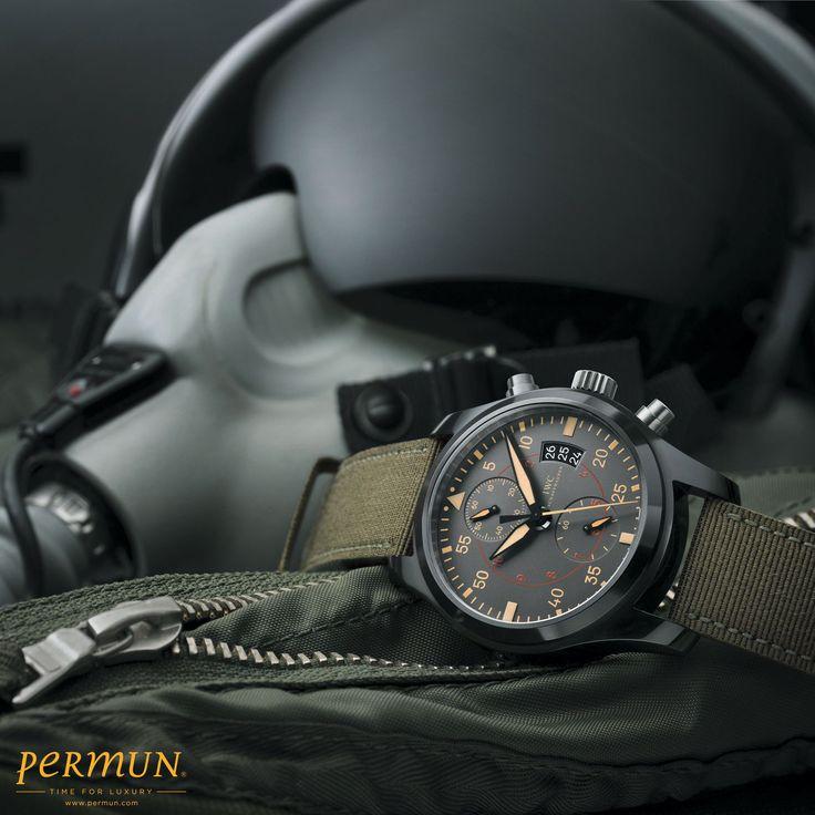 IWC Pilot's Chrono Top Gun Ürün Kodu: IW388002 Fly-Back Chronograph - Otomatik...