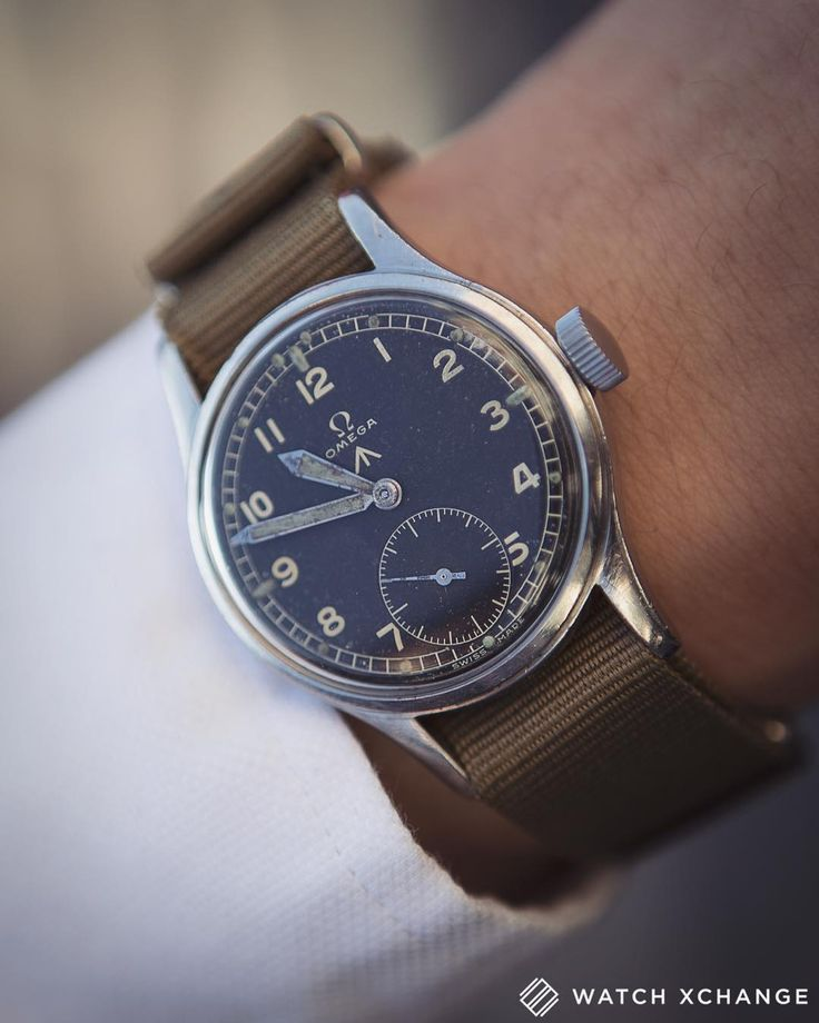 In The Army Now // A #vintage #Omega W.W.W. (MoD commissioned) #military watch f...