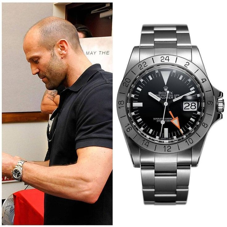 Jason Statham with the holy grail of Explorers! The 1655 Rolex Explorer II! What...