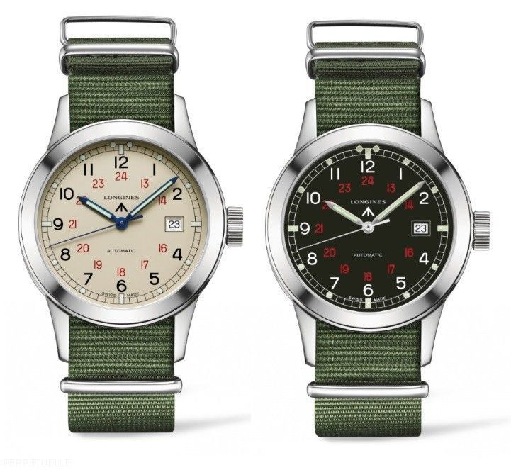 Longines Heritage Military COSD Watches, 2015