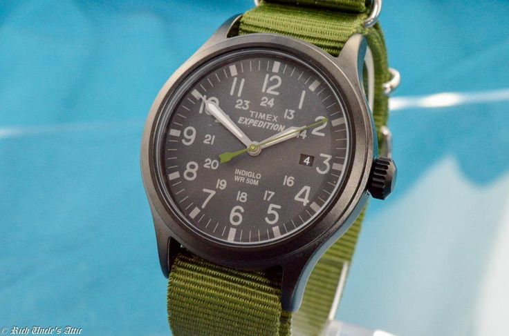GREAT NEW MENS TIMEX VINTAGE MILITARY EXPLORER WATCH!  | eBay