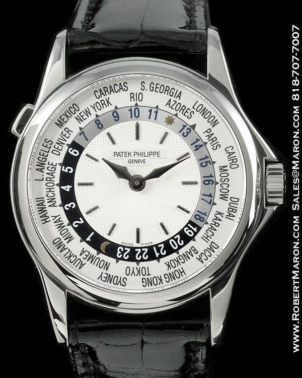 PATEK PHILIPPE 5110 G WORLD TIME 18K :: All Watches :: Robert...