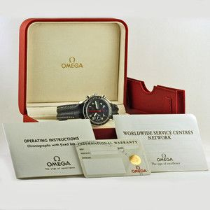 Rare 1996 Omega Speedmaster Chronograph Automatic Watch Ref. 3513.53.00 Ltd Pro.