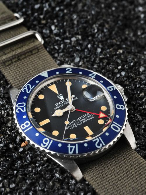 Rolex 1675 gmt again. Love that red hand