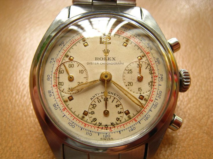 Rolex Anti-Magnetic Chronograph ref 6034, never seen one before! Early example