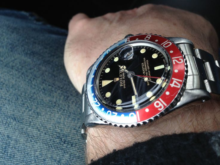 Rolex GMT 1675 Gilt